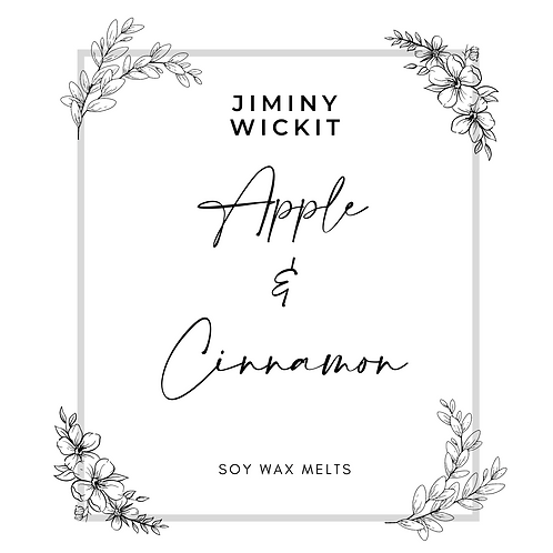 Apple & Cinnamon - Soy Wax Melt Snap Bar