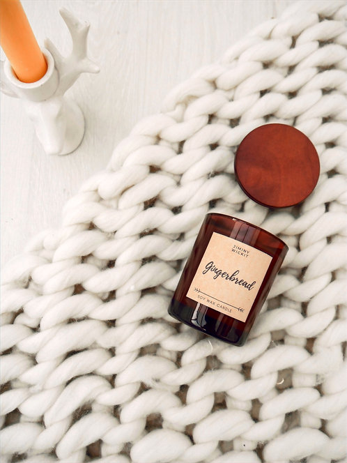 Gingerbread - Soy Wax Candle - Small