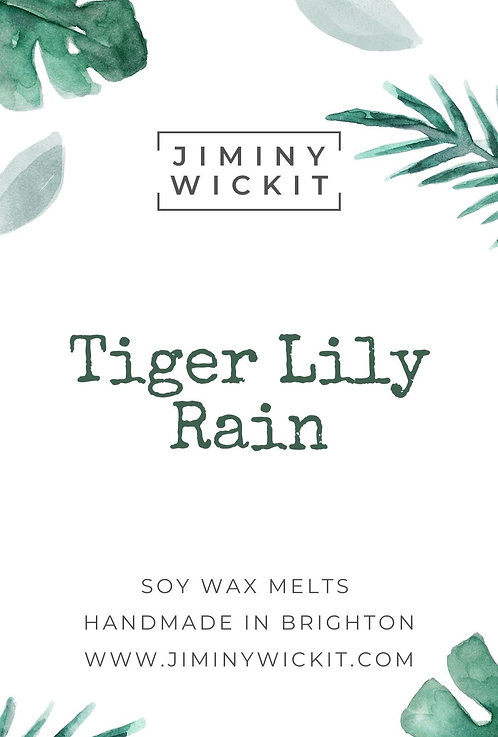 Tiger Lily Rain - Wax Melt Snap Bar