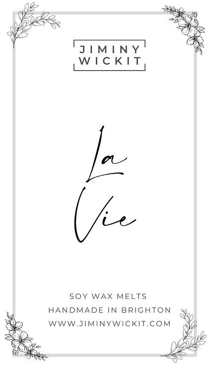 La Vie - Soy Wax Melt Snap Bar