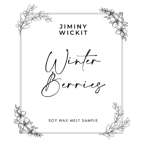 Winter Berries - Soy Wax Melt Snap Bar
