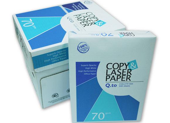 COPY LASER A4 Size Paper (1Carton=5Ream)