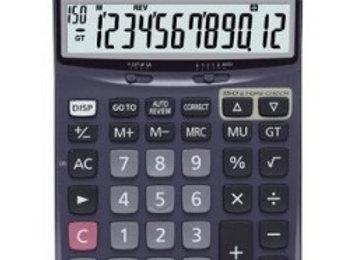 Casio DJ-120D, 12 Digits Check Calculator