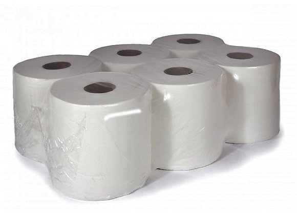 MAXI ROLL 2PLY 800GSM MICRO EMBOSSED WET RESISTANT 100 % CELLULOSE 1X6 ROLLS
