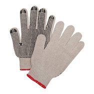 single dotted gloves
