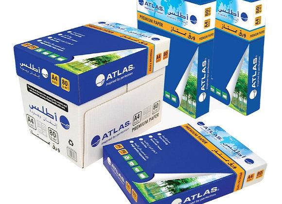 ATLAS A4 Size Paper  (1Carton=5Reams)