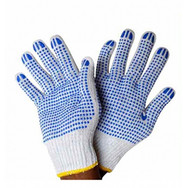 double dotted gloves