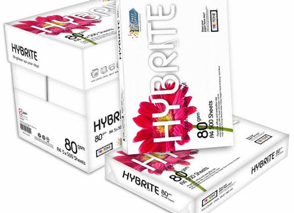 HYBRITE A4 Size Paper (1Carton=5Ream)