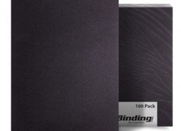 A3 Embossed Binding Cover, 230gsm, [Pack of 100]