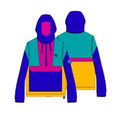 Windbreaker Color Collab com Bolovo