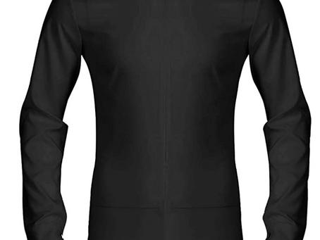 iiniim Men's Long Sleeve Zipper Front Romper Shirt One-Piece Bowtie Leotard Bodysuit