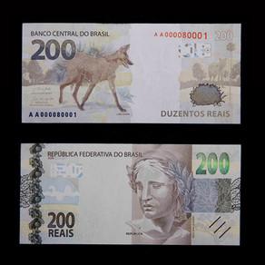 Banco Central revela design e características da nova cédula de R$200