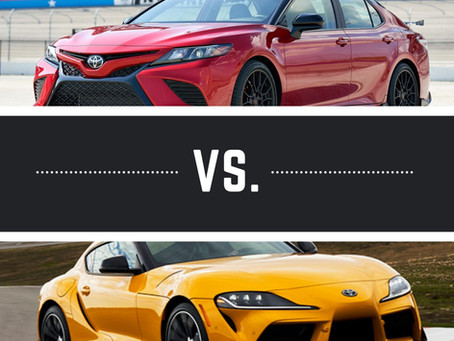 Is The TRD Camry Cooler Than The GR Supra?