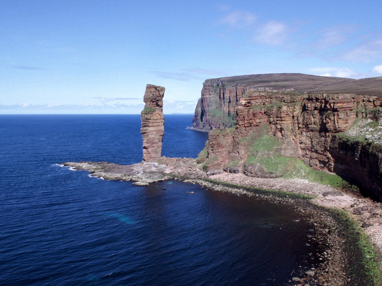Orkney Islands Old Man of Hoy