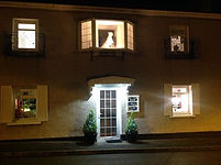 Shangri-La B&B Helmsdale at night