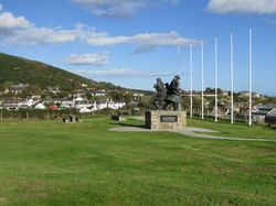 Emigrants Statue Helmsdale