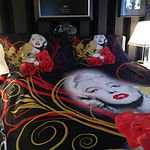 Luxurious Marilyn Monroe bedding