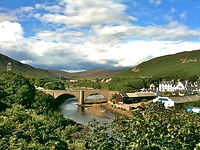The River Helmsdale, Old Bridge and Timespan Museum
