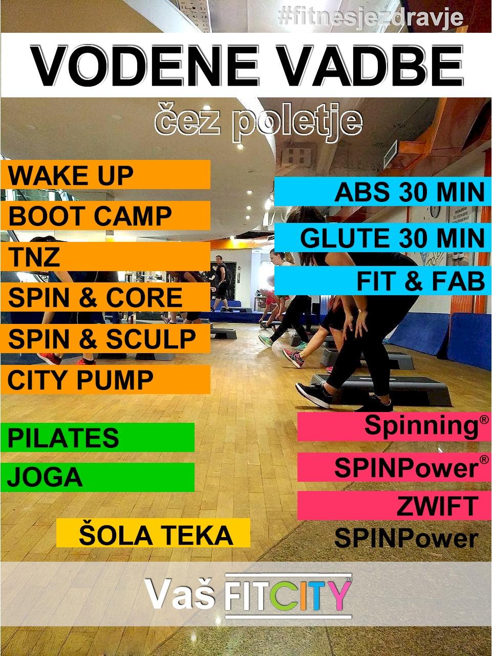 FITCITY Fitnes center | Gym & Spinning® Ljubljana