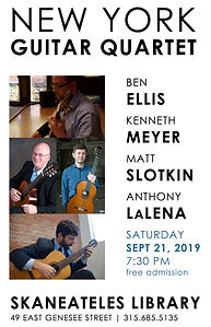 New York Guitar Quartet in Skaneateles-2