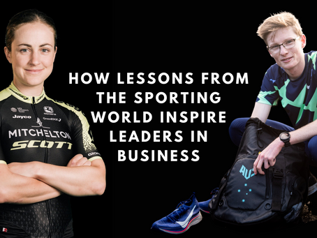 How lessons from the sporting world inspire leaders in business