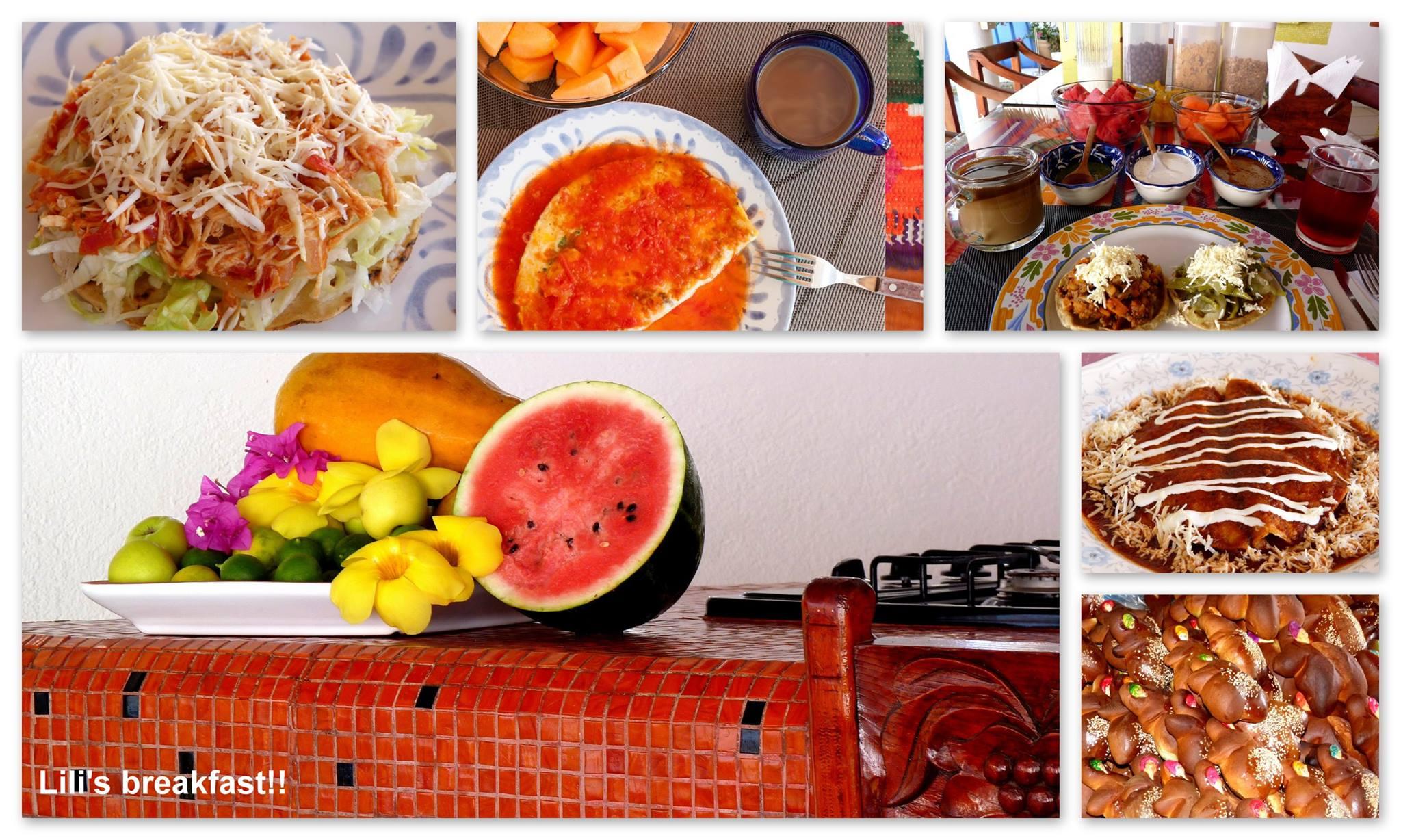 Villa Lili breakfast style