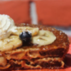 Peanut Butter Banana Crunch French Toast
