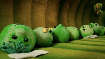 Pea children