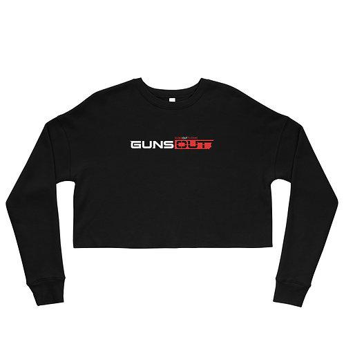 Guns Out Crop Sweatshirt