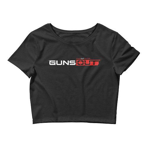 Guns Out Women's Crop Tee