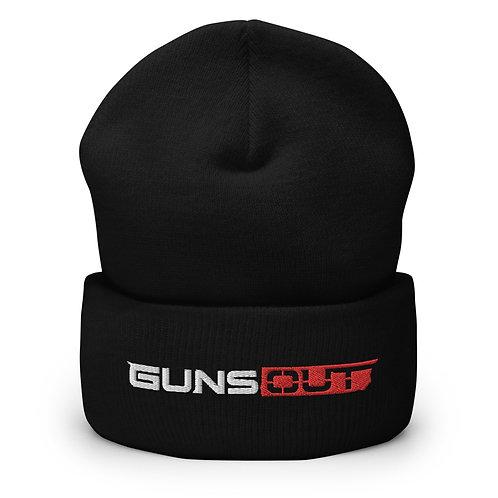 Guns Out Cuffed Beanie