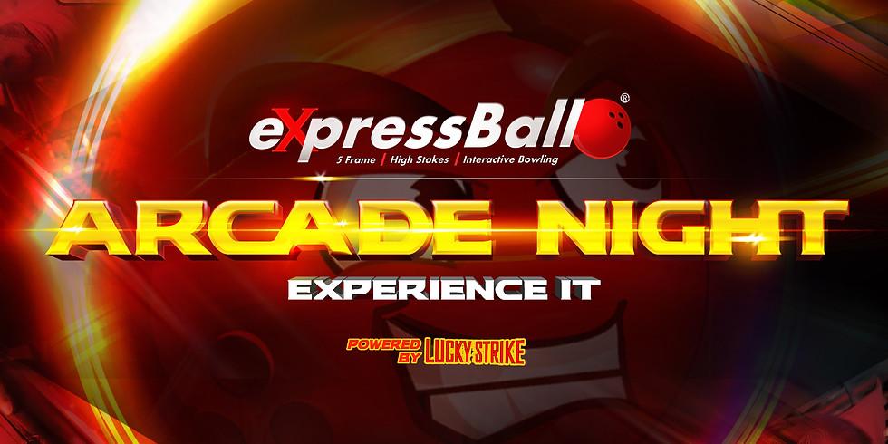 eXpressBall Arcade Night