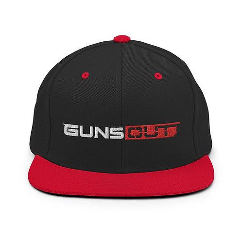 Guns Out Snapback Hat