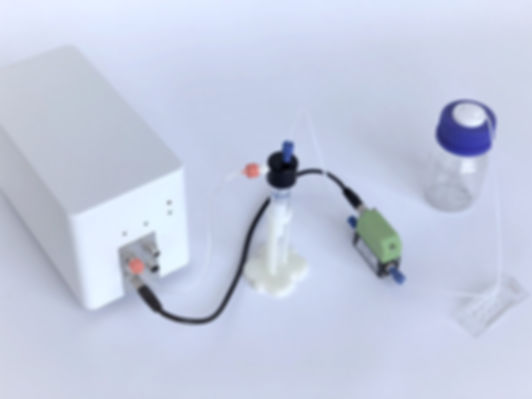 Perfusion System with Single Reagent Delivery, microfluidic delivery, pressure control, PG-PF-MFL2-B