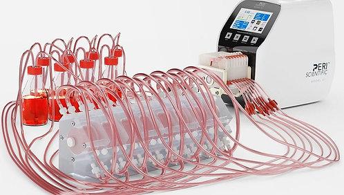 Multi-channel Smart Pump Systems, 0.005-46 mL/min, MC- PeriScientific