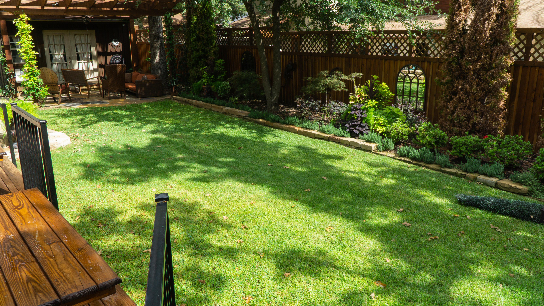 Back Garden - Before Koi Pond