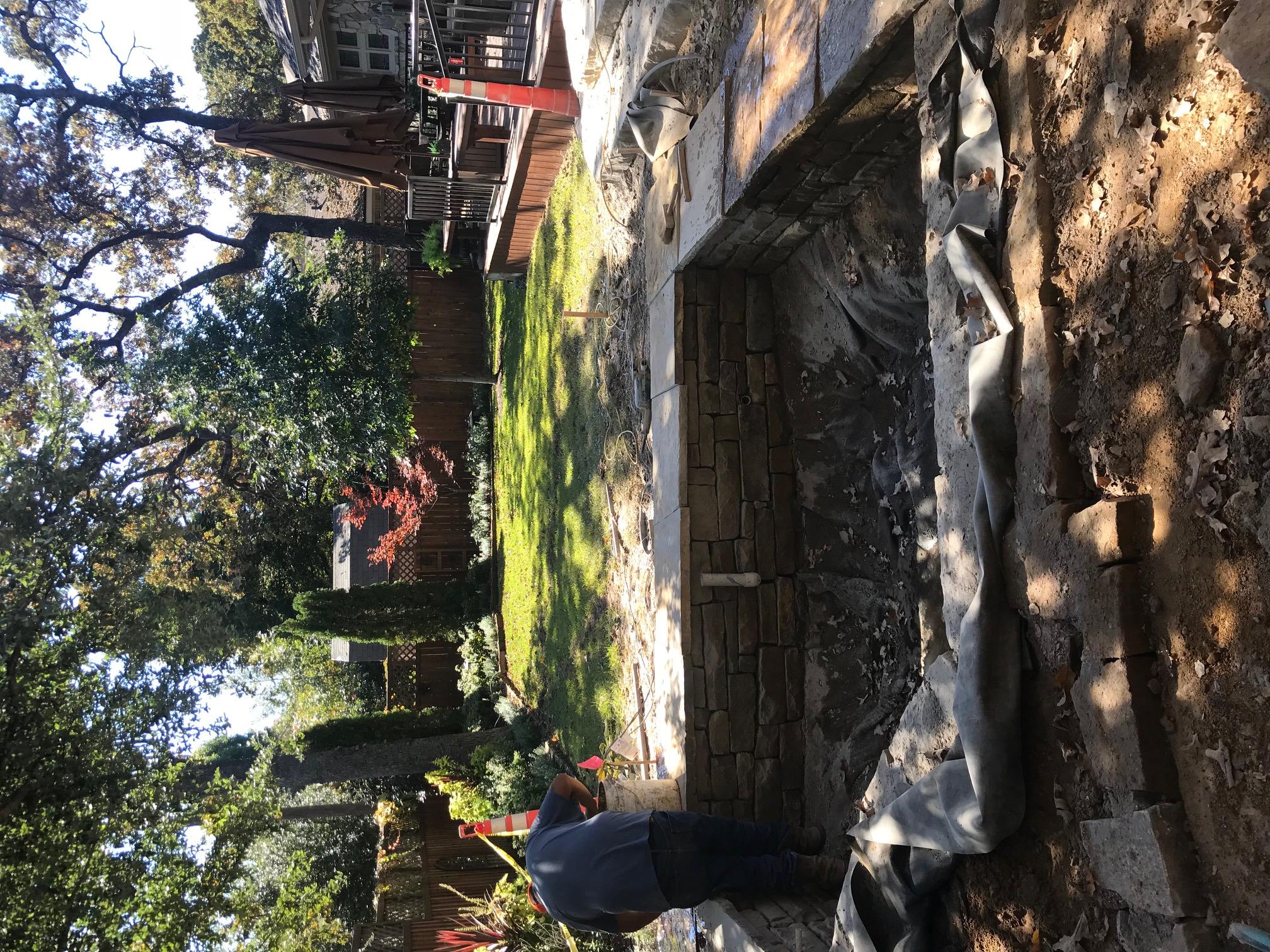 Koi Pond - In Progress