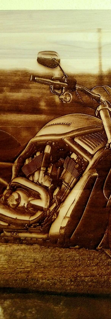 Wood Custom Laser Engraving