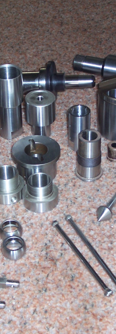 Variety of Precision ground parts