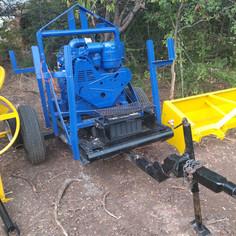 Construction Equipment - Gorman 4in mobile trash pump