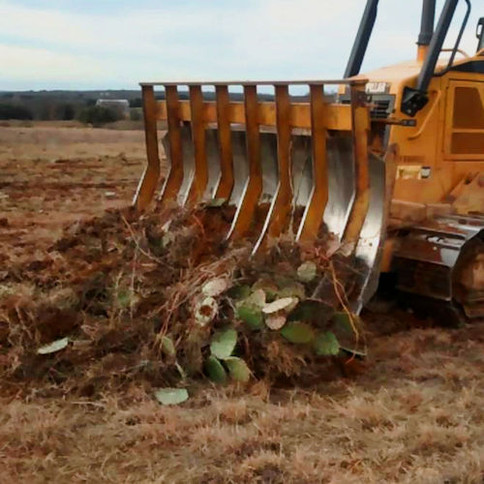 Implement Construction - CAT D5 Root Rake 9-Tooth