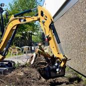 Implement Construction - CAT 301.8 24 in Bucket