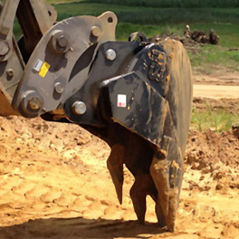 Implement Construction - CAT 314 V-Rock Bucket 5-Tooth