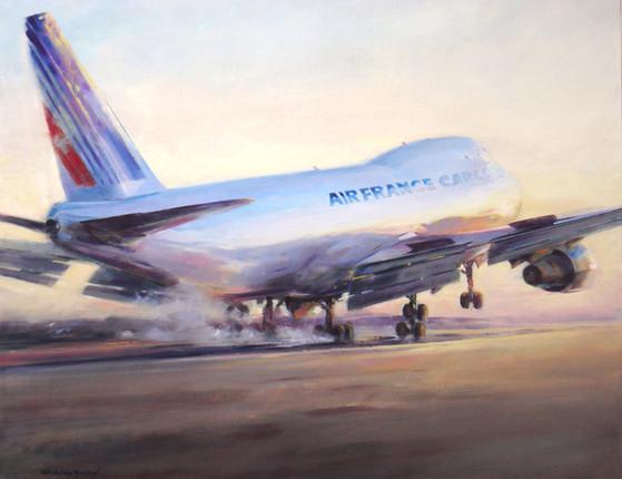 747 ATTERRISSAGE