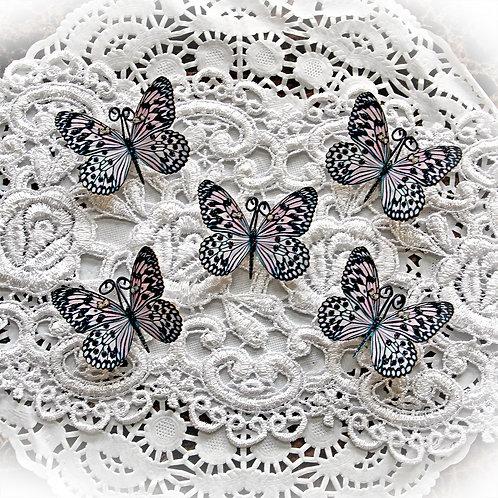 Tiny Treasures Sweetheart Blossoms Premium Paper Butterflies
