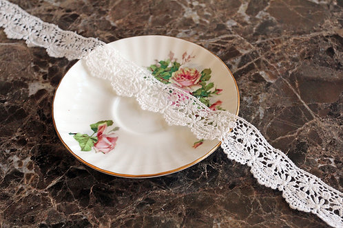 Reneabouquets Trim-Petite Flower Lace
