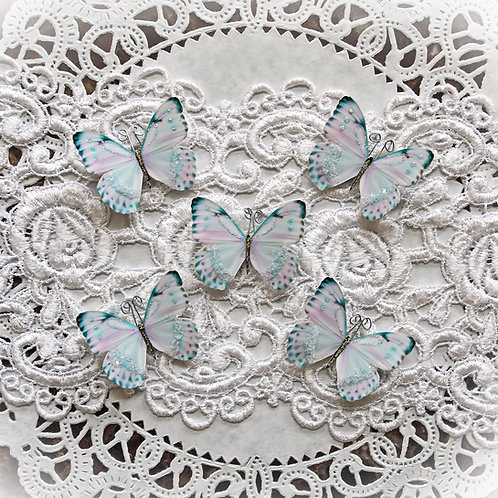 Tiny Treasures Innocence Premium Paper Glitter Glass Butte