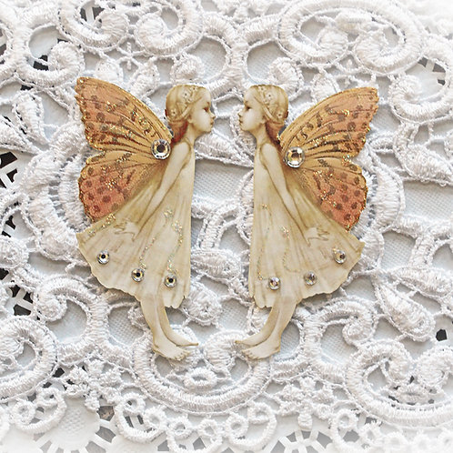 Sweet Garden Butterfly Fairy Premium Paper Die Cut Set