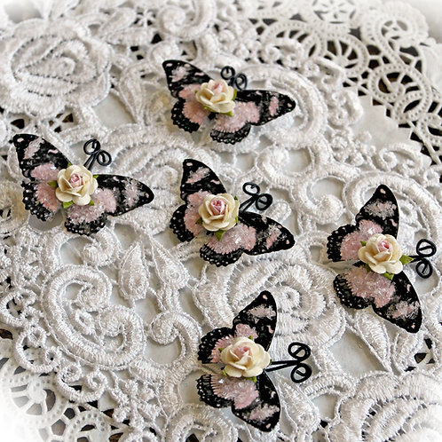 Tiny Treasures My Romantic Heart Butterflies
