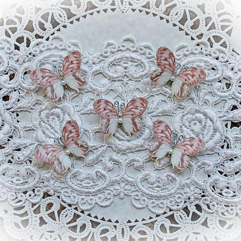 Tiny Treasures Lissie Premium Paper Glitter Glass Butterflies